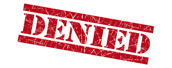 Photo: Long Term Disability Insurance is Denied