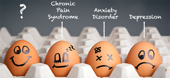 Photo: Eggs pondering mental health issues
