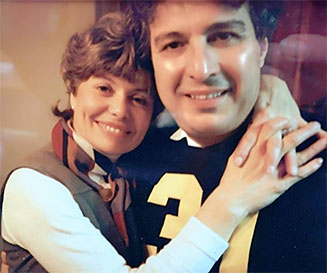 Photo of Roger D. Yachetti and wife, Cleda